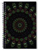 Count The Stars Mandala Spiral Notebook
