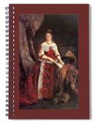 Countess Vera Zubova Konstantin Makovsky Spiral Notebook