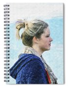 Country Angel - Paint Fx Spiral Notebook