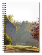 Country Autumn Spiral Notebook