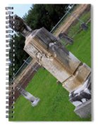 Country Cemetery Spiral Notebook