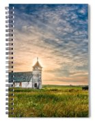 Country Church Sunrise Spiral Notebook