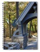 Country Churchyard Spiral Notebook