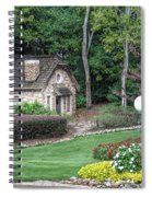 Country Cottage Spiral Notebook