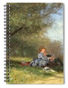 Country Couple Spiral Notebook