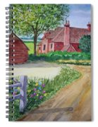 Country Estate Spiral Notebook