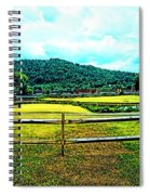 Country Field Spiral Notebook