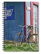 Country French Cafe Spiral Notebook