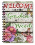 Country Garden Sign-e Spiral Notebook