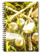 Country Golf Spiral Notebook