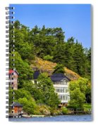 Country Homes Spiral Notebook