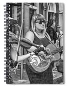 Country In The French Quarter 3 Bw Spiral Notebook