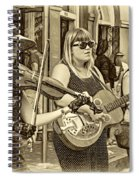 Country In The French Quarter 3 Sepia Spiral Notebook