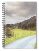 Country Lane In The Lakes Spiral Notebook