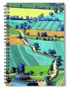 Country Lane Summer II Spiral Notebook