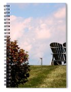 Country Life - Evening Relaxation Spiral Notebook