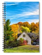 Country Living 2 - Paint Spiral Notebook