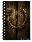 Country Luck Spiral Notebook