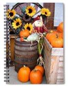 Country Market Spiral Notebook