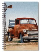 Country Memories Spiral Notebook