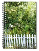 Country Picket Fence Spiral Notebook
