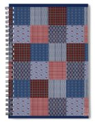 Country Quilt Spiral Notebook