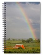 Country Rainbow Spiral Notebook