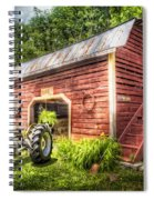 Country Reds Spiral Notebook