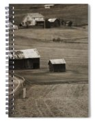 Country Road Holmes County Ohio Spiral Notebook