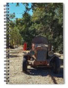 Country Road In California  Spiral Notebook