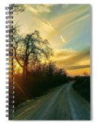Country Road Please Take Me Home Spiral Notebook