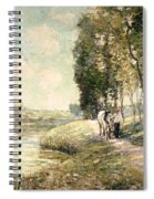 Country Road To Spuyten Spiral Notebook