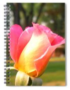 Country Rose Spiral Notebook