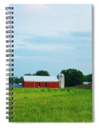 Country Scene Spiral Notebook