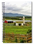 Country Scenic In West Virginia Spiral Notebook