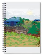Country Sky Spiral Notebook