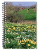 Country Spring Spiral Notebook