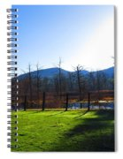 Country Sunshine Spiral Notebook