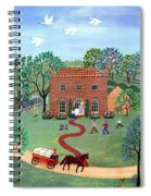 Country Visit Spiral Notebook