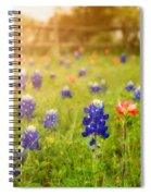 Country Wildflowers Spiral Notebook