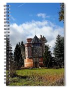 Countryside Castle Spiral Notebook
