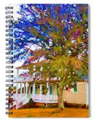 Countryside House 1 Spiral Notebook