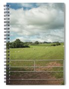 Countryside In Wales Spiral Notebook