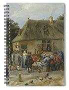 Countryside Inn Spiral Notebook