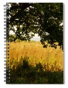 Countryside Of Italy  Spiral Notebook