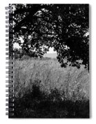 Countryside Of Italy Bnw Spiral Notebook