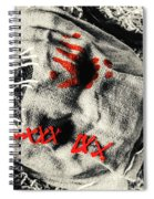 Countryside Of Terror Spiral Notebook