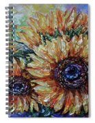 Countryside Sunflowers Spiral Notebook