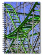 County Fair Thrill Ride Spiral Notebook