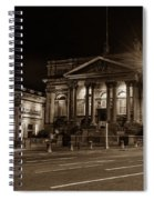 County Sessions House By Night Liverpool Spiral Notebook